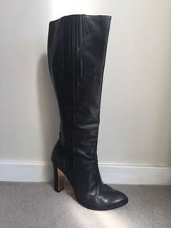 MIMCO Classic Leather Knee High Boots