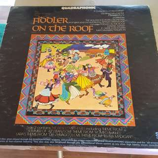 Fiddler on the Roof & New Love Themes LP Vinyl record