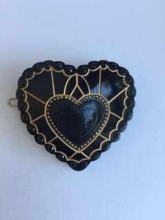 Mimco Heart Hair clip