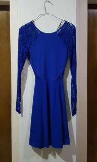 Brand new h&m backless lace dress