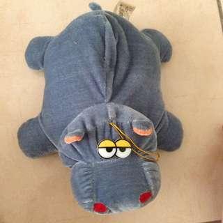 [CLEARANCE] Fatty Hippo / Hippopotamus Soft Stuffed Toy