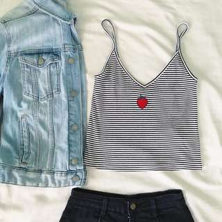 BRAND NEW ✨ Forever 21 Strawberry Cami Graphic Tank