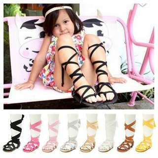 Gladiator shoes baby only brown colour (1)
