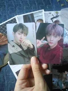 WTS WANNA ONE OFFICIAL PHOTOCARDS
