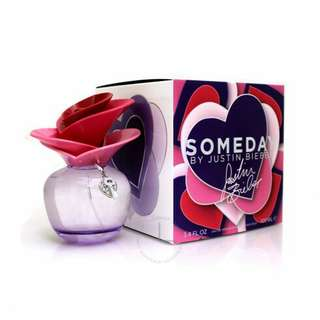 Authentic Justin Bieber Someday / EDP Spray 100 ml