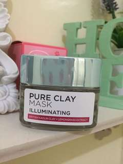 L'Oréal clay mask