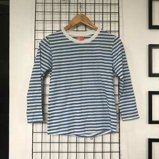 BENCH Striped Long Sleeves Top