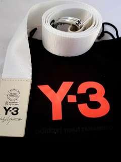 Adidas Y-3 Logo Belt White