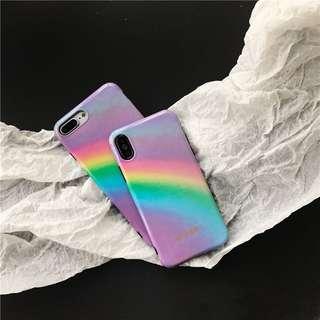 (包郵)歐美彩虹電話殼