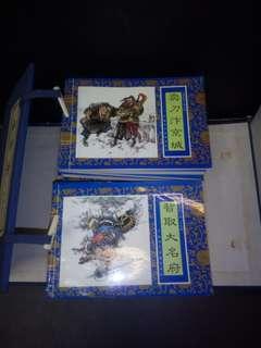 水浒传故事连环画。40本一套2000年出版