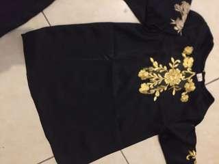 Kaftan Baby Black 1-2 Y