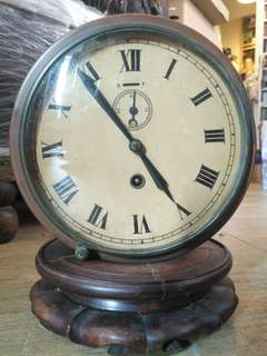 50年以上 德國制 上鍊銅船鐘