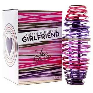 Authentic Justin Bieber Girlfriend / EDP Spray 100 ml