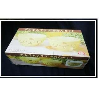 特價景品一套兩隻 @11cm 直徑 x 5.5cm高 陶碗 Pom Pom Purin(布丁狗、布甸狗、ポムポムプリン)Sanrio Character