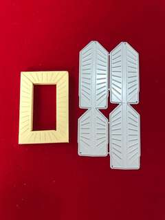 3D frames scrapbook Cutting Dies