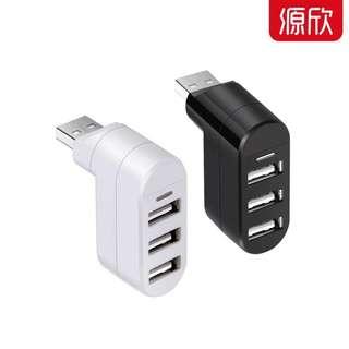 <可換/買>白色USB分綫器