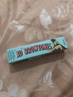 Benefit 3D Brow tones