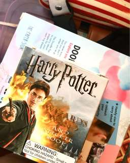HARRY POTTER WAND WITH STICKER BOOK FROM FULLY BOOKED