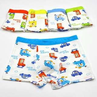 🚚 涼感~5件一組男童涼感內褲組