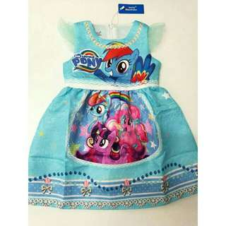 Dress Little pony Ready Stock