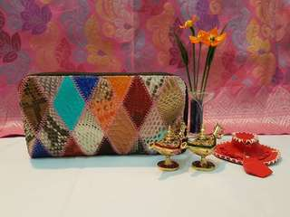 Colourful phyton wallet