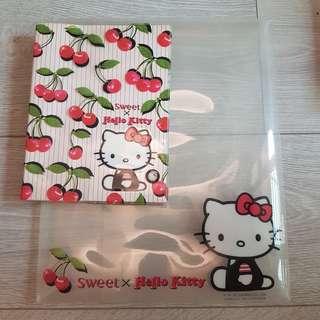 🚚 Hello Kitty資料夾+筆記本