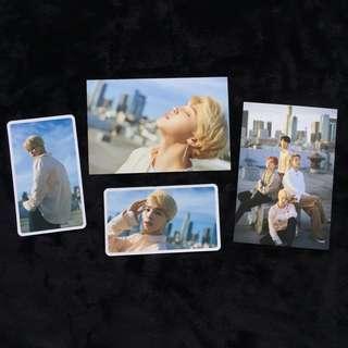 ✨拆售✨朴智旻 Jimin 限量限定特典 BTS x Dispatch Dicon 防彈少年團 韓國D社 明信片+小卡組