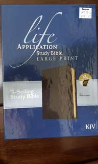 KJV Life Application Study Bible (Large Print)