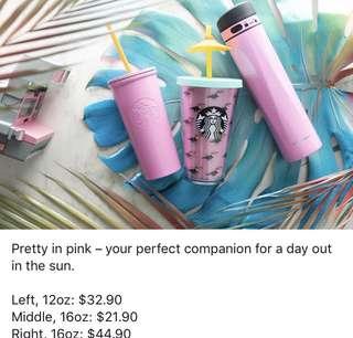 Pink starbucks tumblr