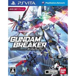 Gundam Breaker 3 English Version PS Vita