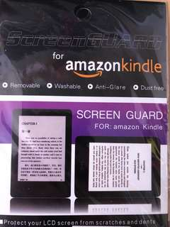 Kindle 8 protector mon貼