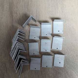 Metal L-shape Brackets Aluminium Brackets