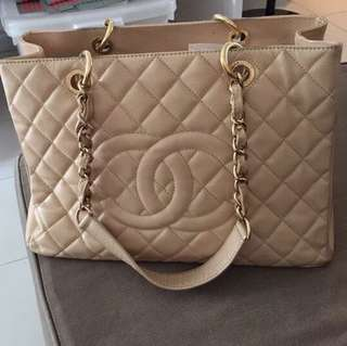 PRICE revised: Chanel gst beige