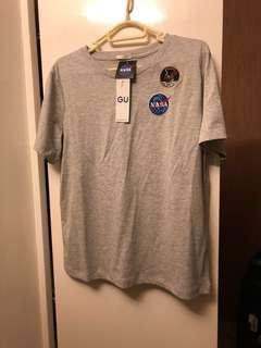 日本GU x NASA 聯乘tee