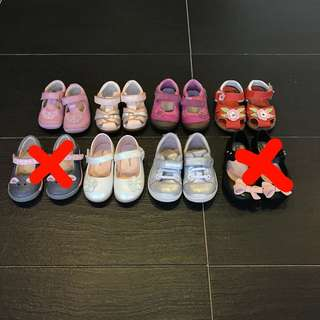 Clark's,mini melissa,stride rite, from 1yo-3yo FROM RM10