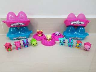 Hatchimals 11pcs figurines (casing not included)