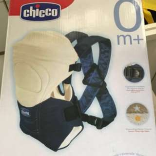 Chicco Go baby carrier (with box) blue