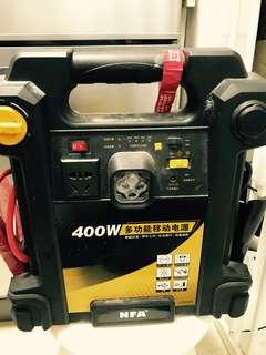 應急汽車引擎及多功能電池(400W)