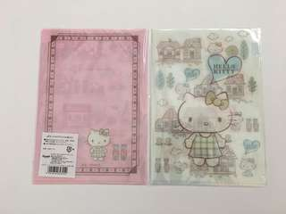 hello kitty x natural lawson small folders