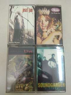 Cassettes Grunge