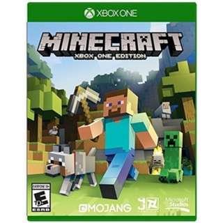 Xbox One Minecraft (NEW)