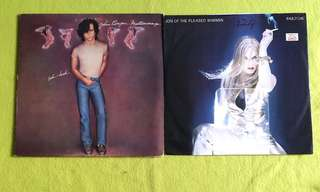 JOHN COUGAR ● JON OF THE PLEASED WIMMIN . mellencamp uh-huh / passion . ( buy 1 get 1 free )  vinyl record