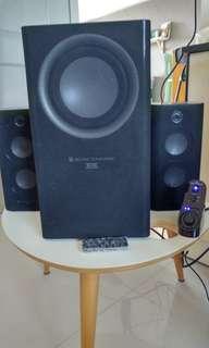 Altec lansing MX5021 2.1 speakers