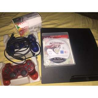 PS3 Slim 160 GB ( Model CECH-3001A ) System in great condition.