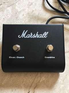 Marshall original footswitch JVM, DSL, JCM
