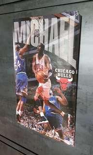Chicago Bulls Michael Jordan poster