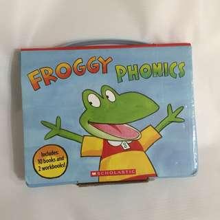 Scholastic Froggy Phonics