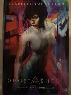 Ghost in a Shell Movie Poster