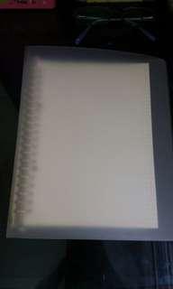 Muji file 連格紙