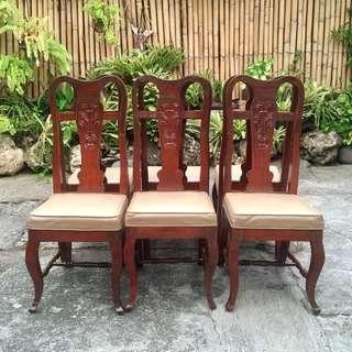6 Narra Chairs